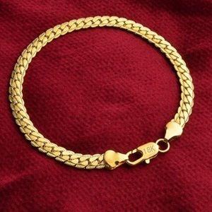 925 Silver Italian 5mm Cuban Curb Link  Bracelet